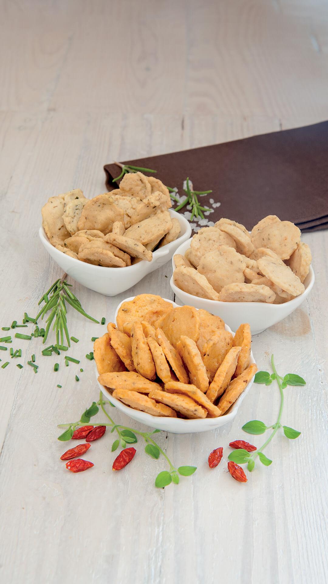 SKA - Biscuits Sales A L'Huile Olive