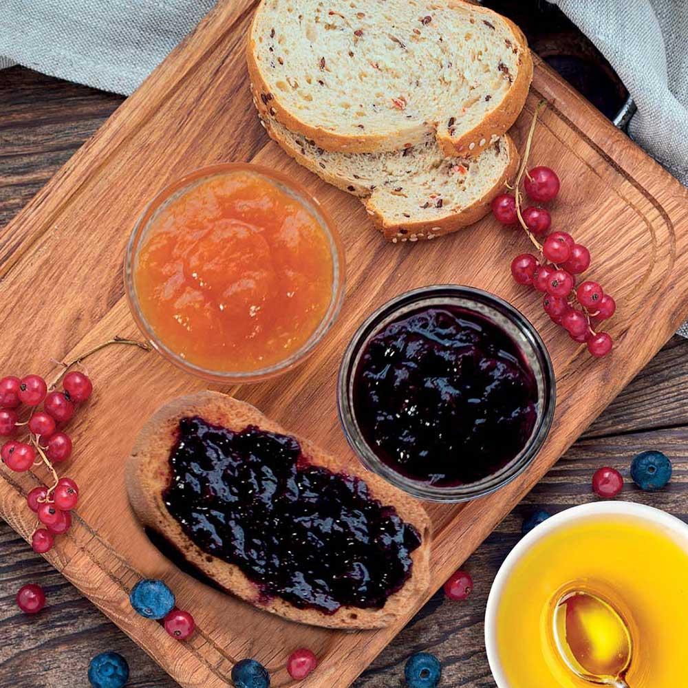 Marmelade und Honig